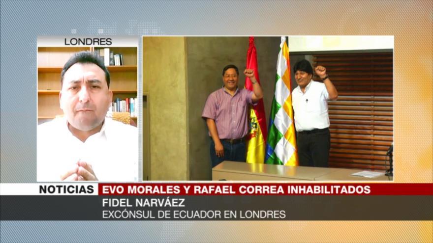 'Morales y Correa se enfrentan a la hegemonía estadounidense' | HISPANTV