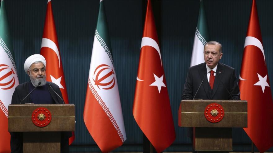 Irán y Turquía se unen contra 'traicionero' pacto emirato-israelí