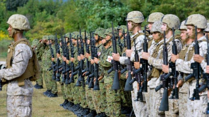 Un ejercicio militar conjunto entre tropas estadounidenses y japonesas.