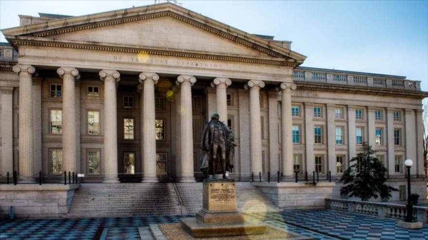 Sede del Departamento del Tesoro de Estados Unidos en Washington, la capital.