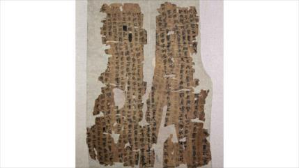 Hallan texto de 2200 años: podría ser el origen de anatomía humana