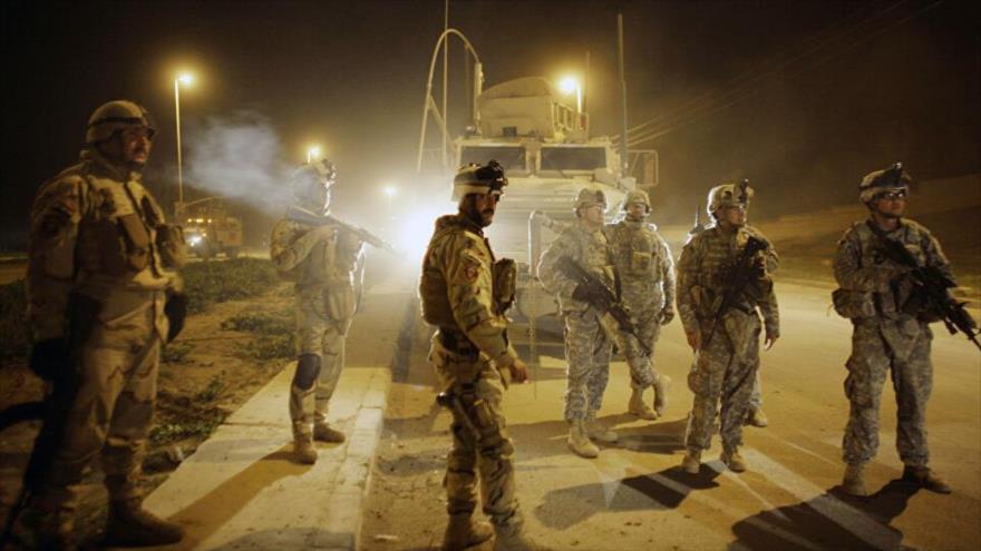 Bombas de carretera golpean dos convoyes militares de EEUU en Irak   HISPANTV