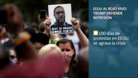 PoliMedios: EEUU al rojo vivo; Trump defiende represión