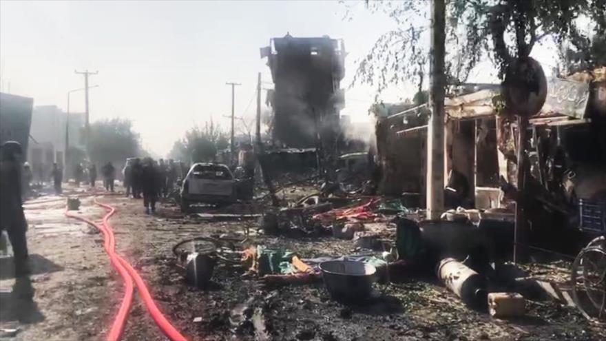 Vicepresidente afgano sale ileso de un atentado con 10 muertos | HISPANTV