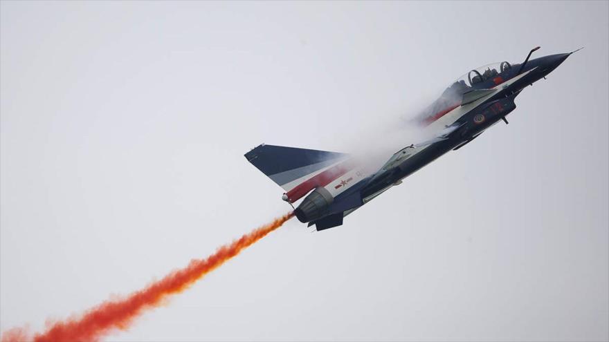 China envía cazas Su-30 y J-10 a Taiwán en plena tensión | HISPANTV