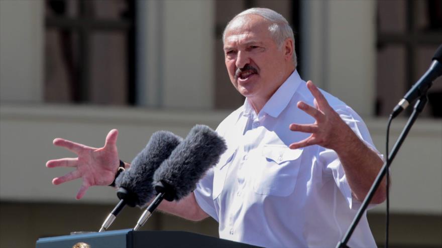 Lukashenko carga contra EEUU por incitar a protestas en Bielorrusia | HISPANTV