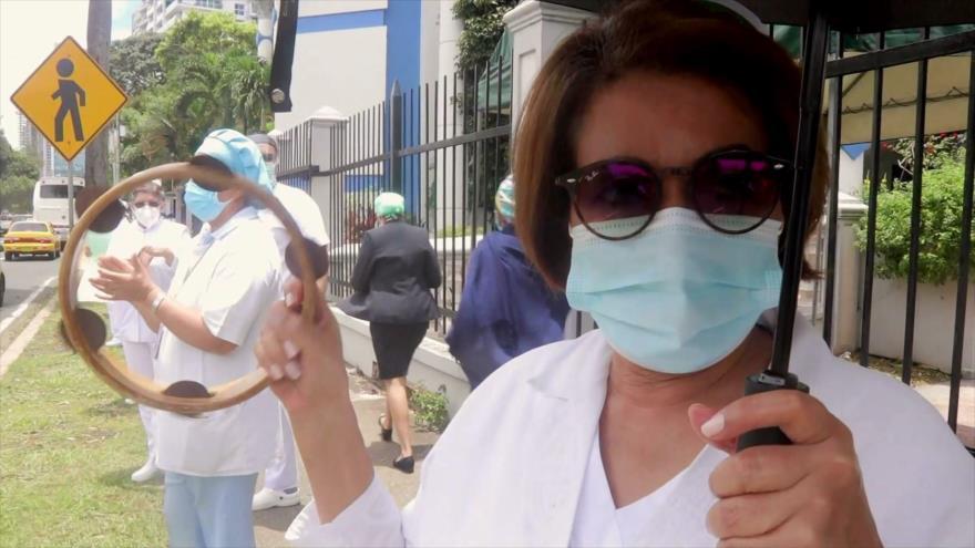 Estudiantes reclaman salud y educación en las calles de Panamá