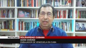 Embajador venezolano en Cuba pide Nobel de Paz para médicos cubanos