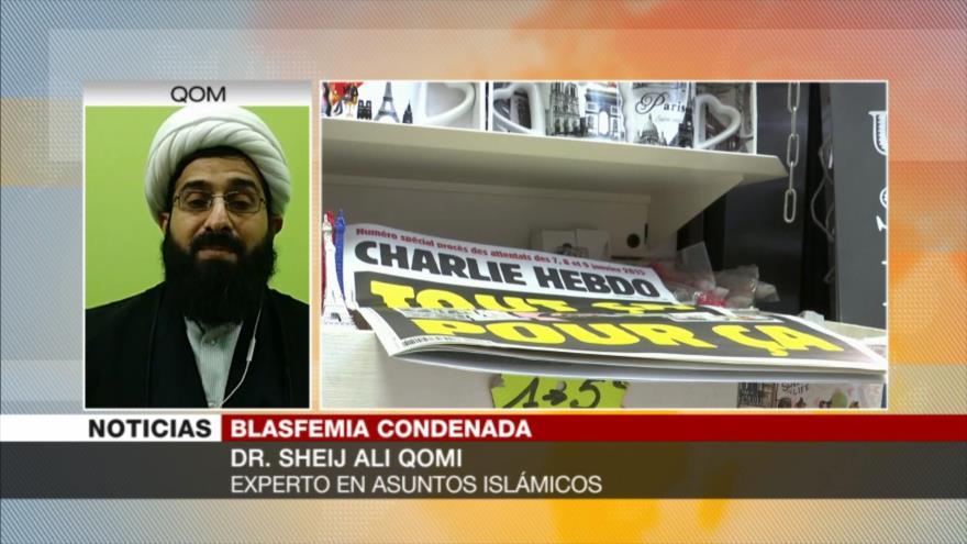 Qomi: Blasfemias contra el Profeta no es libertad de expresión
