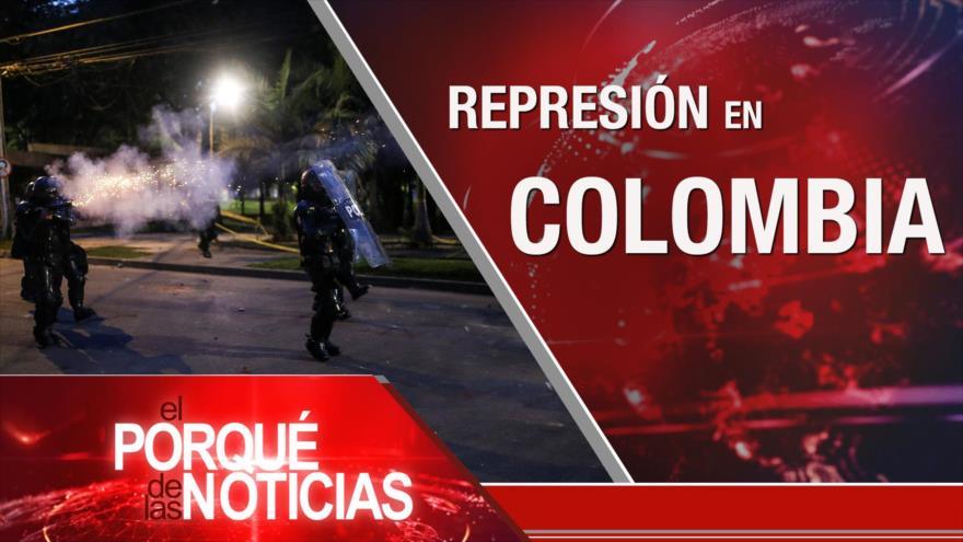 El Porqué de las Noticias: Blasfemia rechazada. Poderío defensivo de Irán. Represión en Colombia
