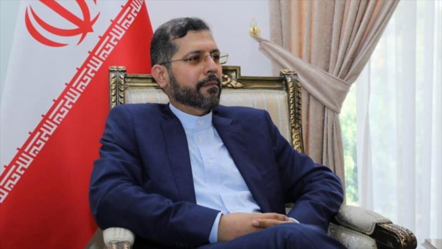 El portavoz de la Cancillería iraní, Said Jatibzade.