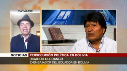 Ulcuango: En Bolivia y Ecuador sacan provecho del poder judicial