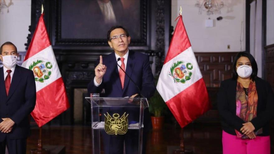 Vizcarra advierte al Congreso: No voy a renunciar, no me corro | HISPANTV