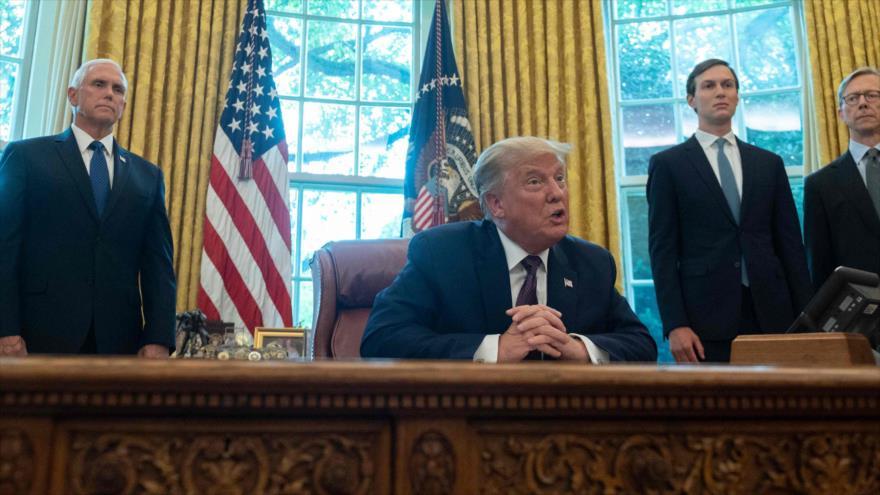 Trump anuncia normalización de relaciones entre Israel y Baréin