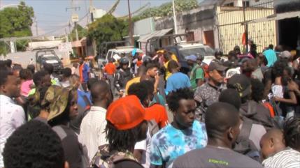 CNDH pide atención a migrantes haitianos en frontera de México