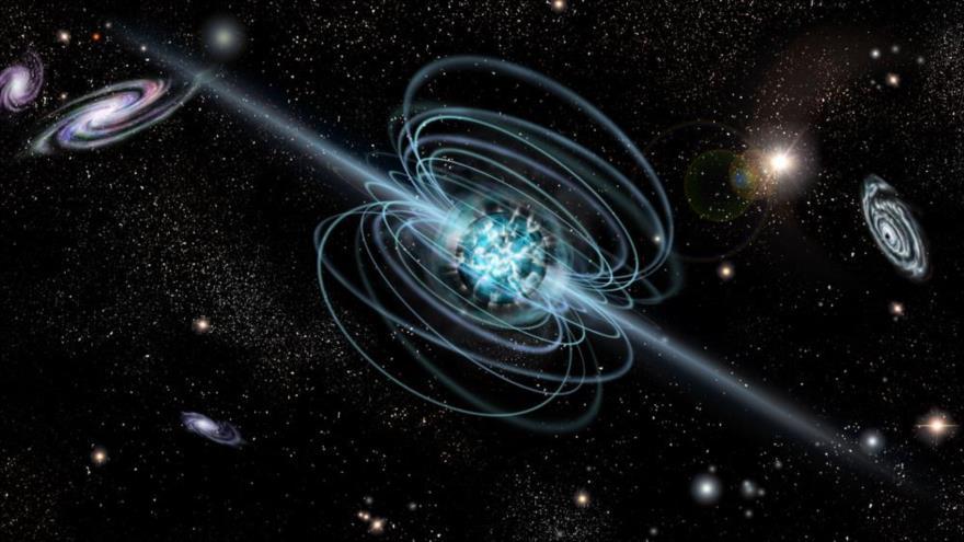 Un telescopio chino encuentra el campo magnético más fuerte del universo.