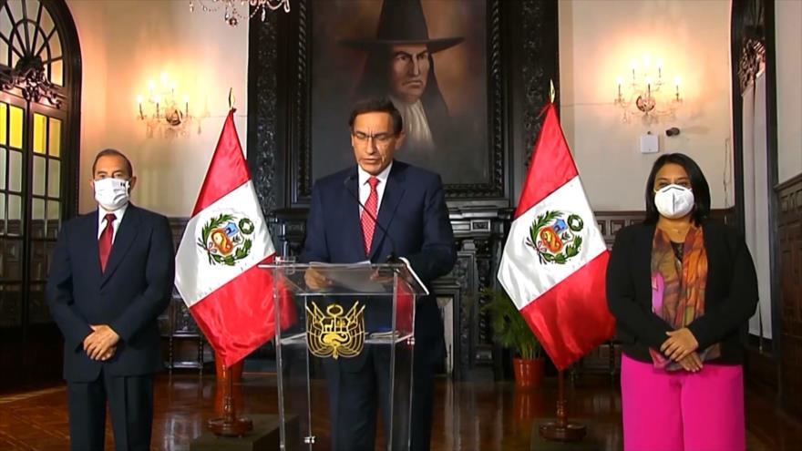 Congreso presenta una moción de vacancia contra presidente peruano