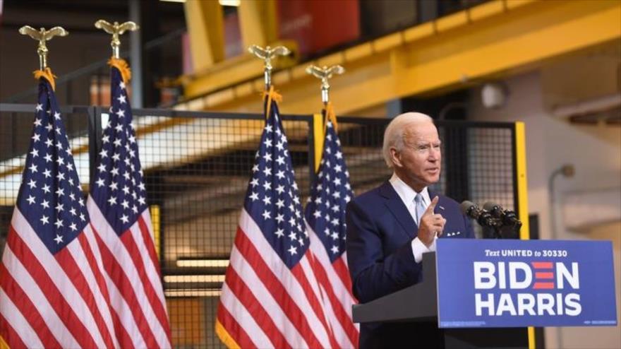 Sondeo: Biden aventaja a Trump por su boutade sobre los soldados   HISPANTV
