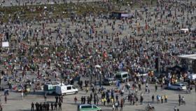 Protestas en Alemania y Polonia contra restricciones por COVID-19