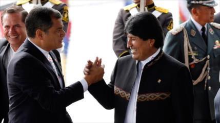 Sondeo: Inhabilitan a Morales y Correa por temor electoral