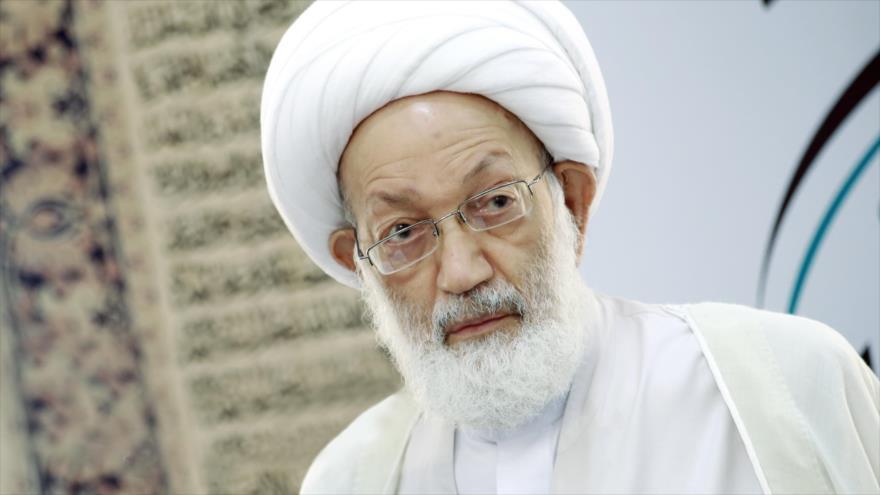 El sheij Isa Ahmad Qasem, prominente clérigo chií de Baréin.