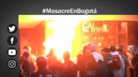 Etiquetaje: Masacre en Bogotá; fuerzas militares generan terror