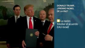 PoliMedios: Donald Trump, ¿Premio Nobel de la Paz?