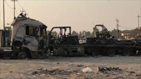 Convoy militar de EEUU es objeto de ataque con bomba en Irak