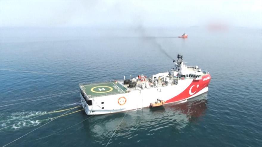 Se agravan las tensiones en el Mediterráneo oriental