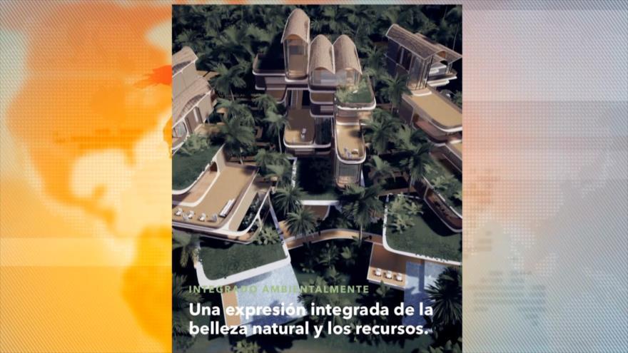 Construyen en isla hondureña la primera ciudad modelo