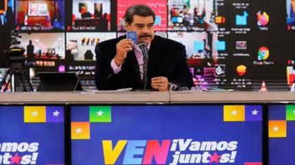 Maduro: El pueblo definirá el destino de Venezuela en comicios