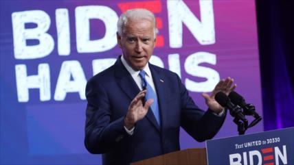 Biden: Trump aisló a EEUU al retirarse del pacto nuclear con Irán