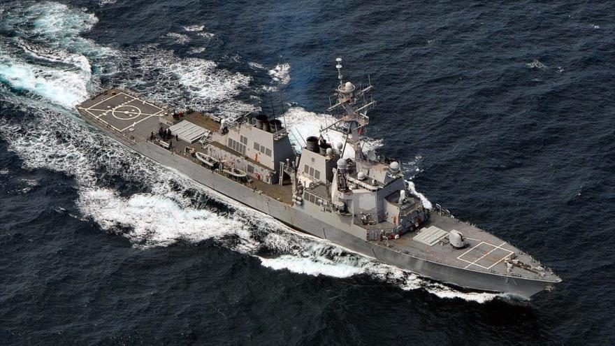Armada rusa vigila un destructor de EEUU en el mar Báltico | HISPANTV