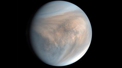 Descubren indicios de potencial de vida en la atmósfera de Venus