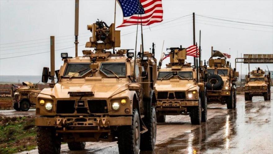 Un convoy militar de Estados Unidos en Irak.
