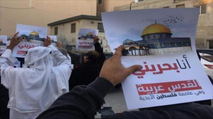Bareiníes protestan contra normalización de nexos con Israel