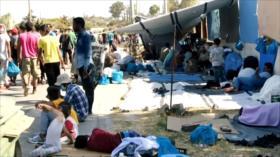 Grecia pide a europeos reaccionar sobre situación de refugiados
