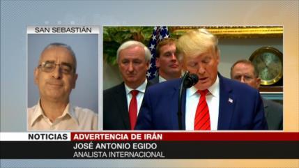 """EEUU no se atreve a actuar contra Irán por temor a su poderío"""