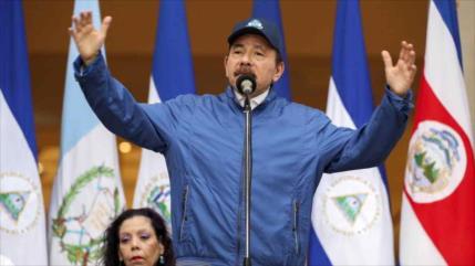 Ortega: Oposición busca incendiar Nicaragua como hizo EEUU