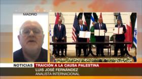 Fernández: Acuerdo con Israel, regalo emiratí-bareiní a Trump