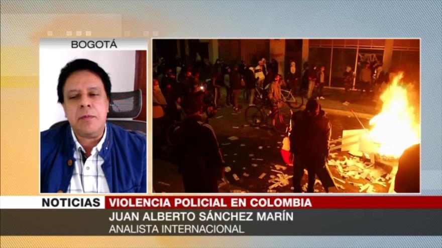 Sánchez Marín: Colombia legaliza criminalidad para su Policía