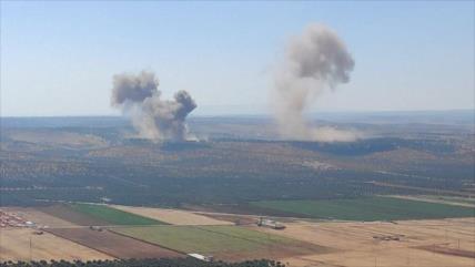 """Rusia da el golpe """"más poderoso"""" en meses a terroristas en Idlib"""