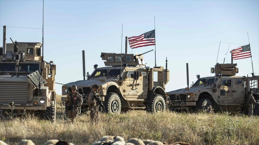 Un convoy militar estadounidense desplegado en el noreste de Siria, 7 de junio de 2020. (Foto: AFP)