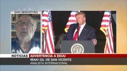 Gil: EEUU miente bajo la estrategia de desviar sus agudos problemas
