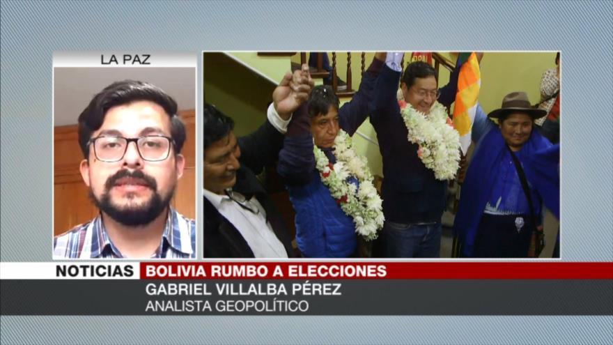 Villalba Pérez: Se prevé un escenario de fraude en elecciones de Bolivia