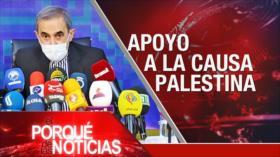 El Porqué de las Noticias: Apoyo a la causa palestina. Conmoción en Colombia. Laberinto del Brexit