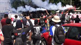Hondureños vuelven a protestar contra Gobierno de Hernández