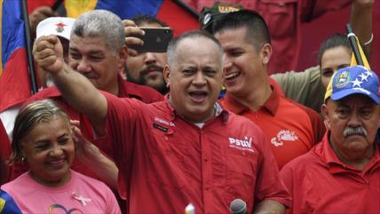 Cabello: ¡Venezuela se prepara para victoria contra imperialistas!