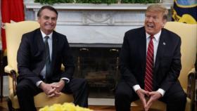PT: Brasil de Bolsonaro se convirtió en un servidor de EEUU