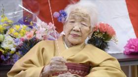 Japonesa, de más de 117 años, bate el récord de longevidad